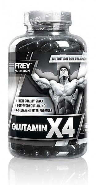 Frey Nutrition Glutamin X4 250 Kapseln