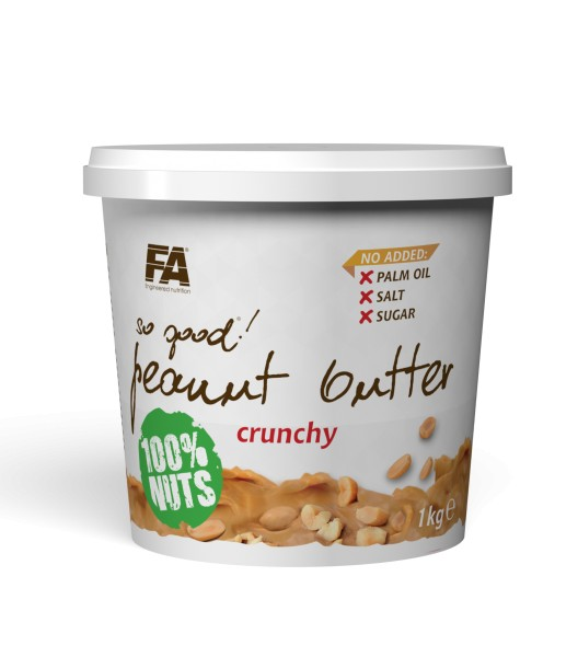 Fitness Authority So Good Cashew Butter Crunchy 1kg