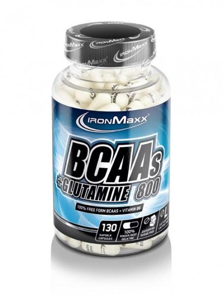 Ironmaxx BCAA's + Glutamin 800 130 Kapseln