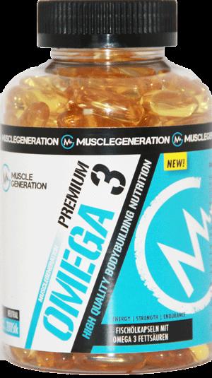 Musclegeneration Omega 3 200 Kapseln