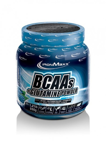 Ironmaxx BCAAs + Glutamine Powder 550g