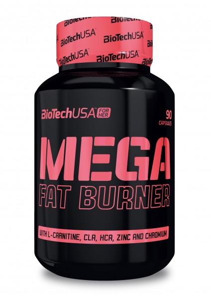 Biotech USA Mega Fat Burner for her 90 Tabletten