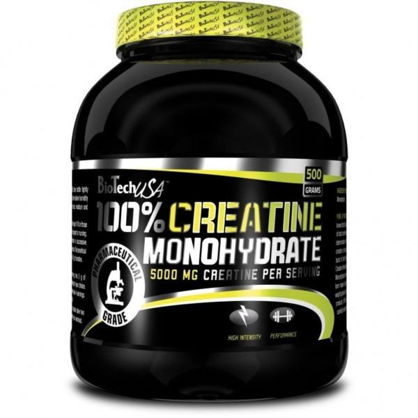 BioTech USA 100% Creatin Monohydrat 500g
