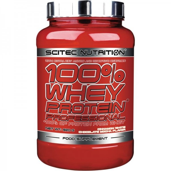 Scitec Nutrition 100 % Whey Protein Professional 920g