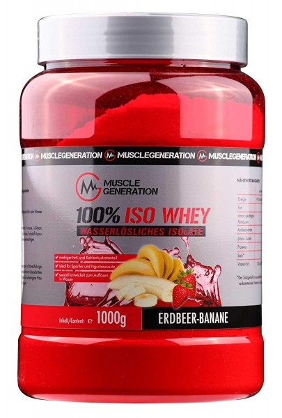 Musclegeneration 100% Iso Whey 1000g