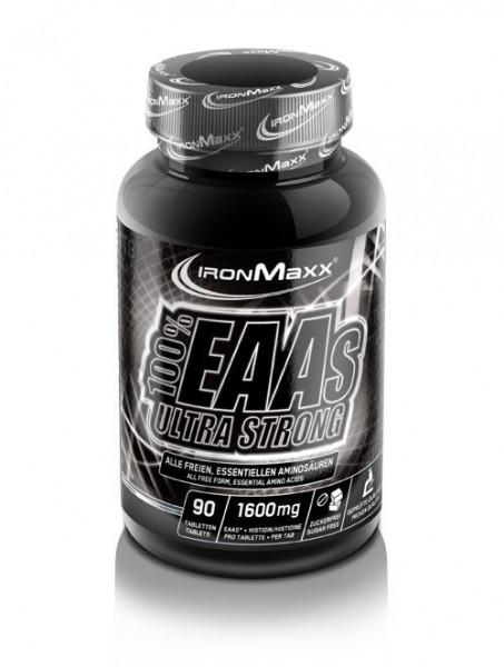 Ironmaxx 100% EAAs Ultra Strong 90 Tabletten