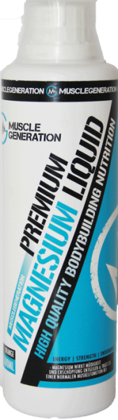 Musclegeneration Magnesium Liquid 500ml Orange