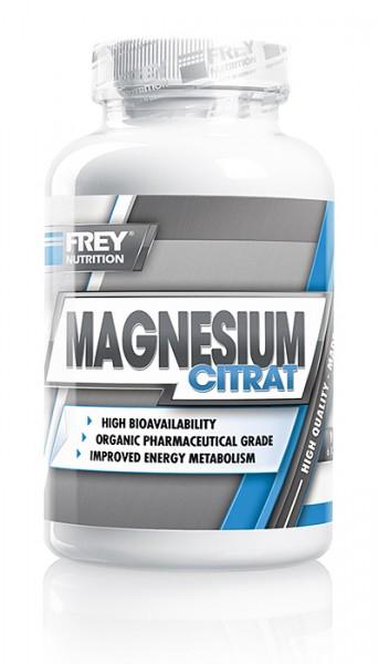 Frey Nutrition Magnesium Citrat 120 Kapseln