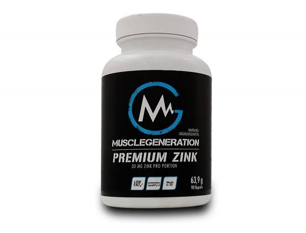 Musclegeneration Premium Zink 90 Kapseln
