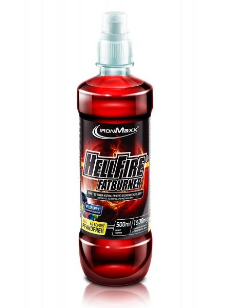 Ironmaxx Hellfire Fatburner Drink 500ml