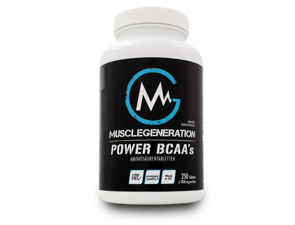 Musclegeneration Power BCAA 250 Tabletten